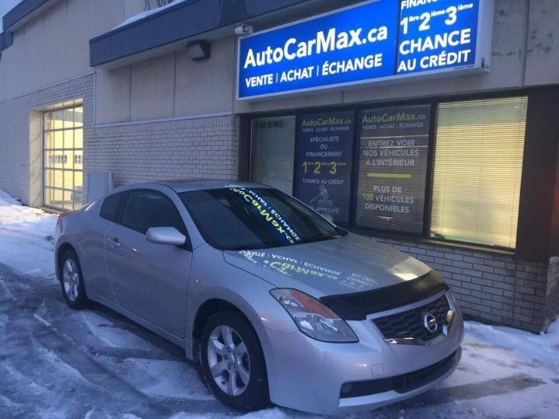 Nissan Altima 2,5 Coupe Cuir-Sunroof-Blutooth-Spécial !!! 2008 Silver automatic of 85 000 km