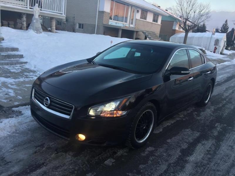Nissan Maxima 3.5 SV CVT-CAM DE RECUL-SPORT PACKAGE-TRES RARE! 2012 Unknown automatic of 135 000 km