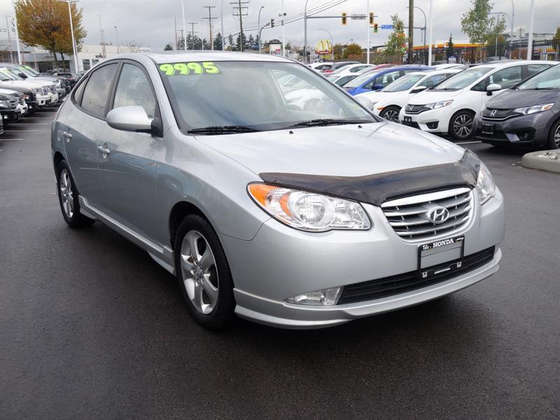 2010 hyundai elantra gls used for sale in abbotsford at the honda way. Black Bedroom Furniture Sets. Home Design Ideas