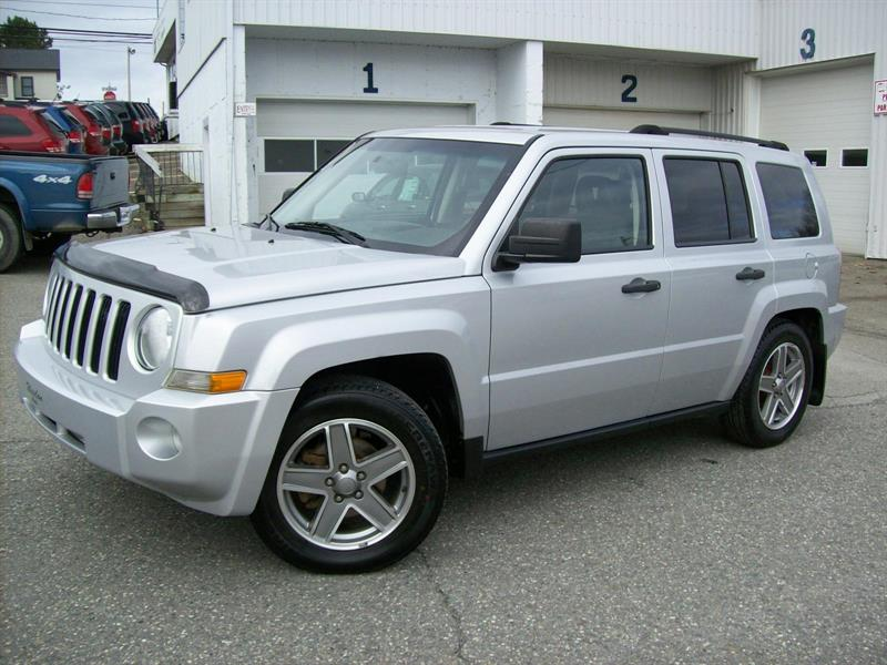 Jeep Patriot 4WD 2007 North #D-4750A