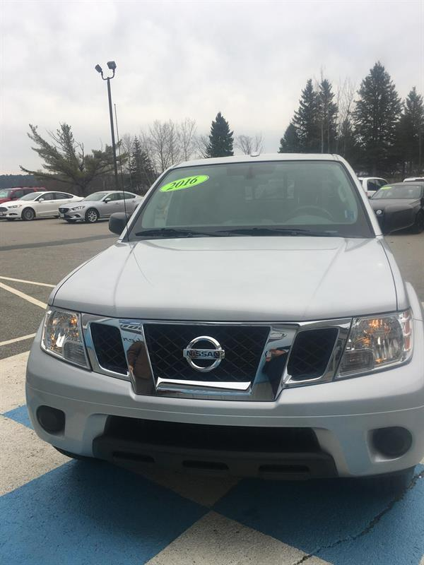 2016 Nissan Frontier 4WD Crew Cab SV #MM692