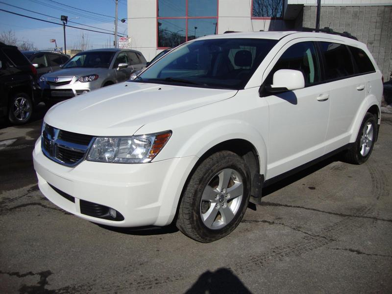 2010 Dodge JOURNEY SXT BLUETOOTH Blanc Pearl #M36