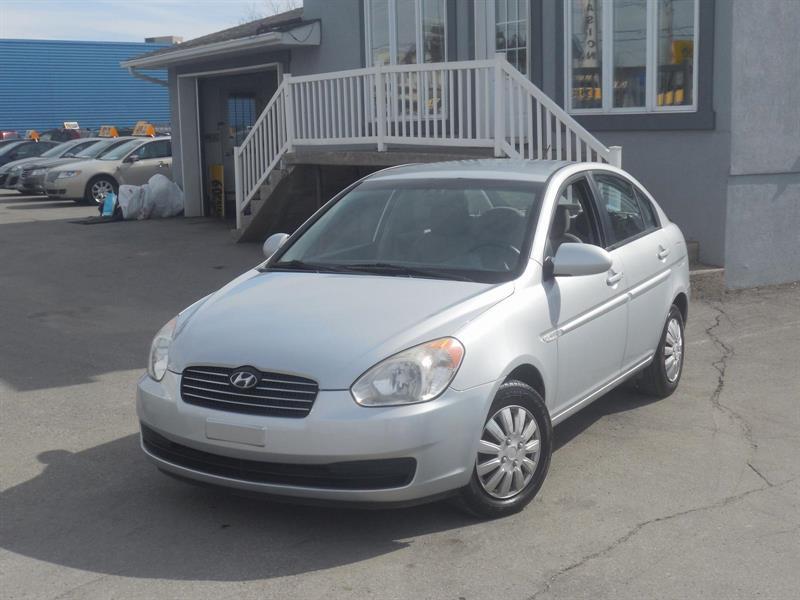 Hyundai Accent 4-dr 2007 GL #15-055