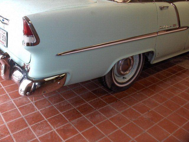 1955 Chevrolet Belair Loads of Chrome #2348-0