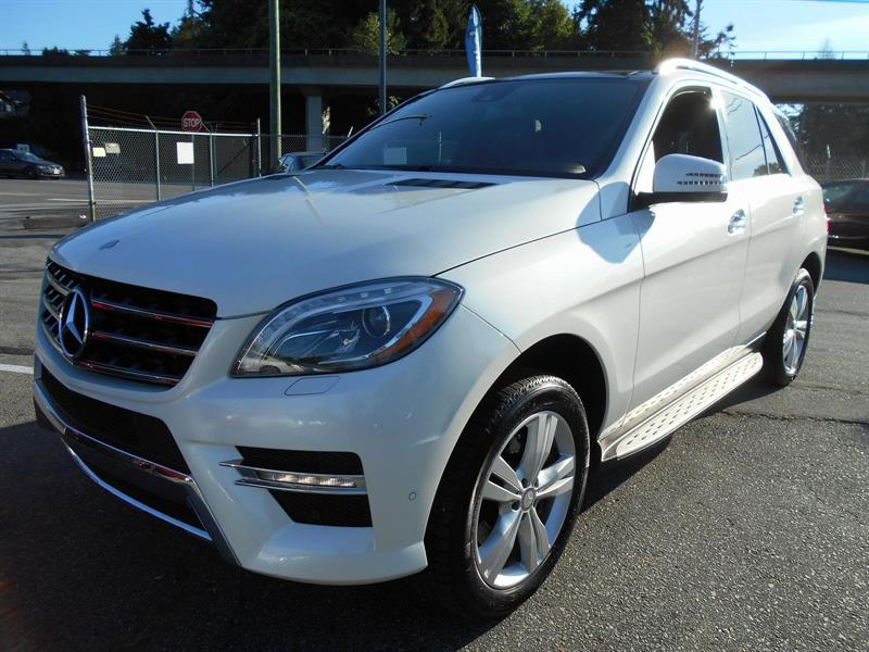 2013 Mercedes-Benz M-Class ML 350 BlueTEC #SG2580