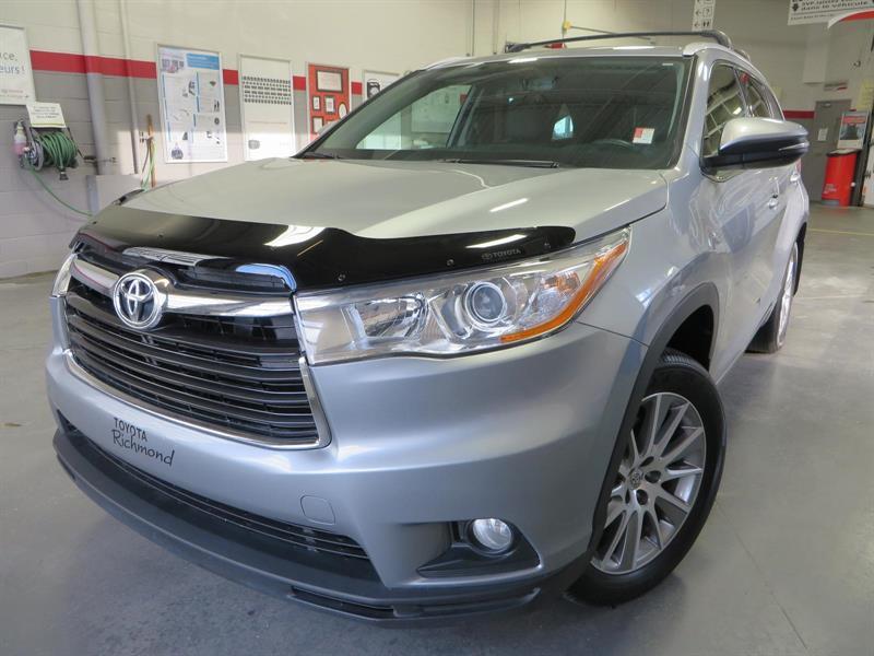 Toyota Highlander 2015 XLE V6 AWD #36389A