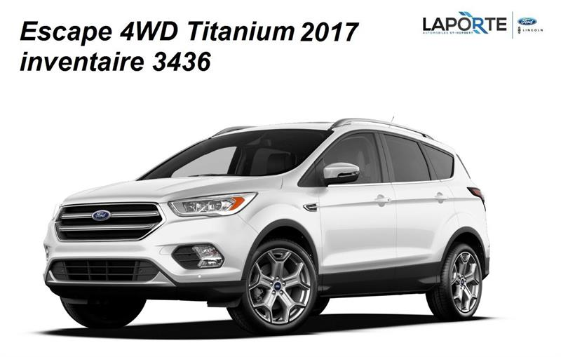 Ford Escape 2017 TITANIUM #3435