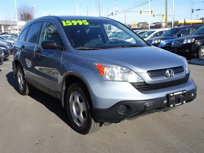 2009 honda cr v lx awd used for sale in abbotsford at the honda way. Black Bedroom Furniture Sets. Home Design Ideas