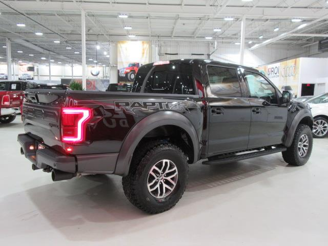 ford f150 raptor svt 3 5l ecoboost 2017 occasion vendre saint eustache chez le roi du camion. Black Bedroom Furniture Sets. Home Design Ideas