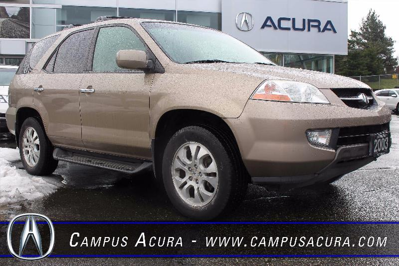 2003 acura mdx touring used for sale in victoria at campus acura. Black Bedroom Furniture Sets. Home Design Ideas