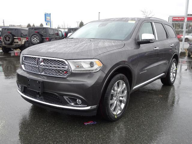 2017 dodge durango citadel new for sale in langley at. Black Bedroom Furniture Sets. Home Design Ideas