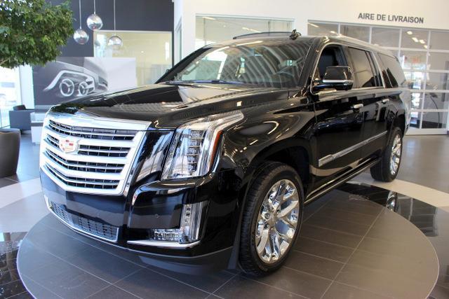 Cadillac Escalade ESV 2016 4WD 4dr Platinum #K625015