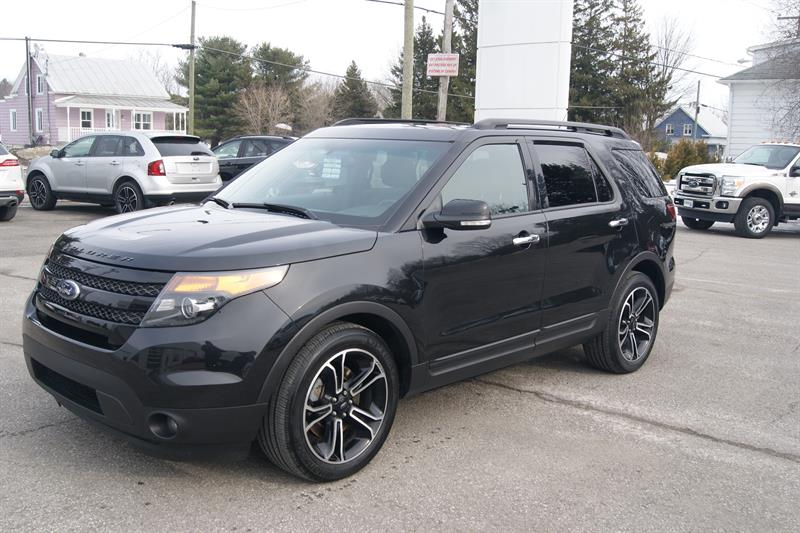ford explorer sport 2014 occasion vendre saint norbert chez automobiles r jean laporte et fils. Black Bedroom Furniture Sets. Home Design Ideas
