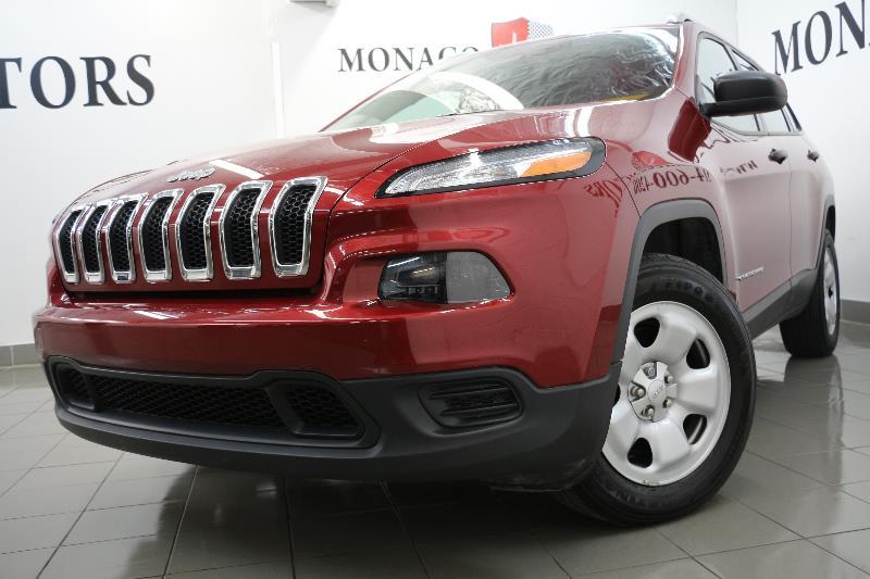2014 Jeep Cherokee 4WD JEEP CHEROKEE SPORT CAMERA BT  #6588