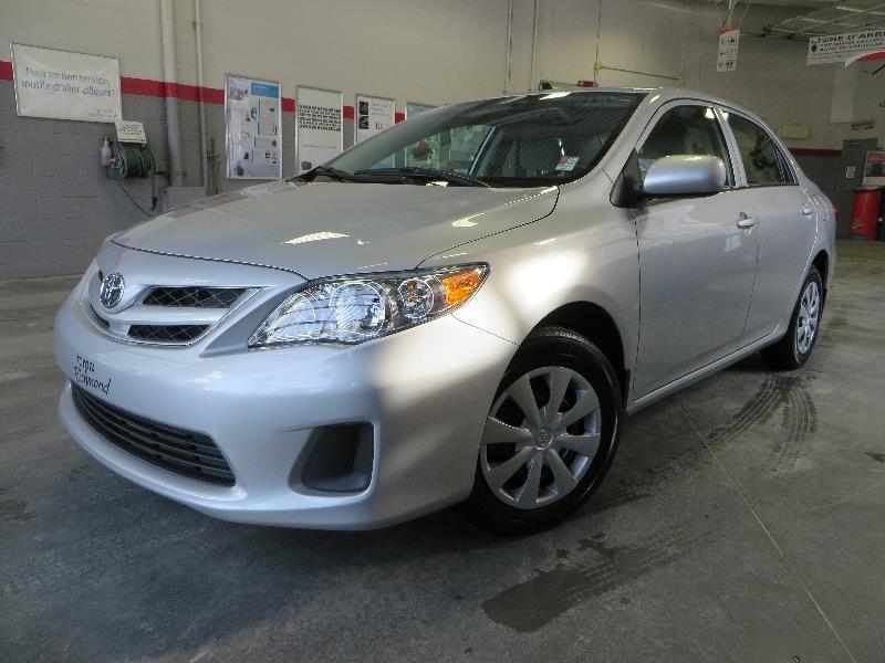 Toyota Corolla 2013 CE Gr:B A/C + AUTOMATIQUE #U7517