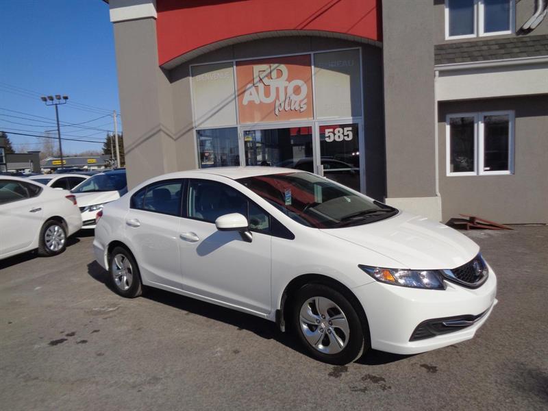 Honda Civic Sedan 2015 LX #8796