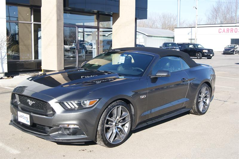 ford mustang gt premium 2016 occasion vendre saint norbert chez automobiles r jean laporte et fils. Black Bedroom Furniture Sets. Home Design Ideas