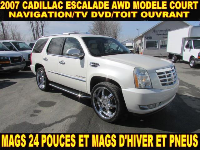 Cadillac Escalade 2007 MAGS 24 POUCE TOUT ÉQUIPÉ #43180