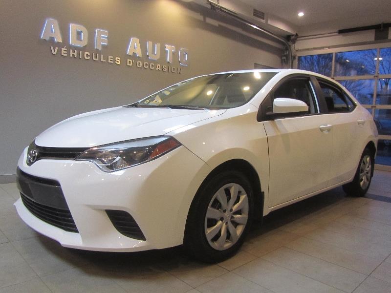 Toyota Corolla 2015 LE AUTOMATIQUE #4164