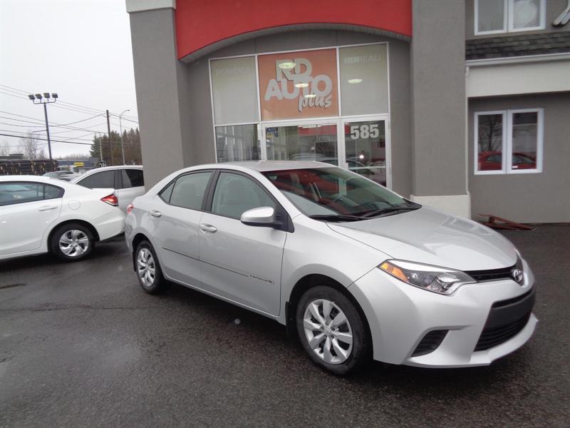 Toyota Corolla 2014 LE #8854