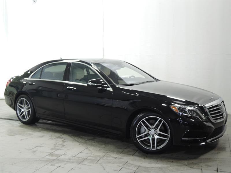 Mercedes-Benz S550 2017 4MATIC Sedan (LWB) **RABAIS 17000$** #17-0239