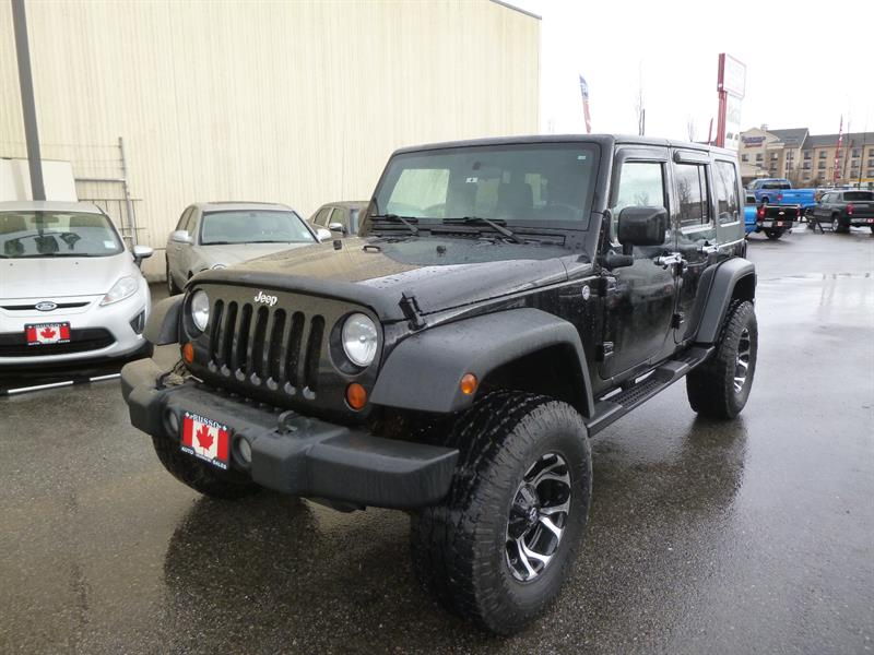 2007 Jeep Wrangler Unlimited X #N0016
