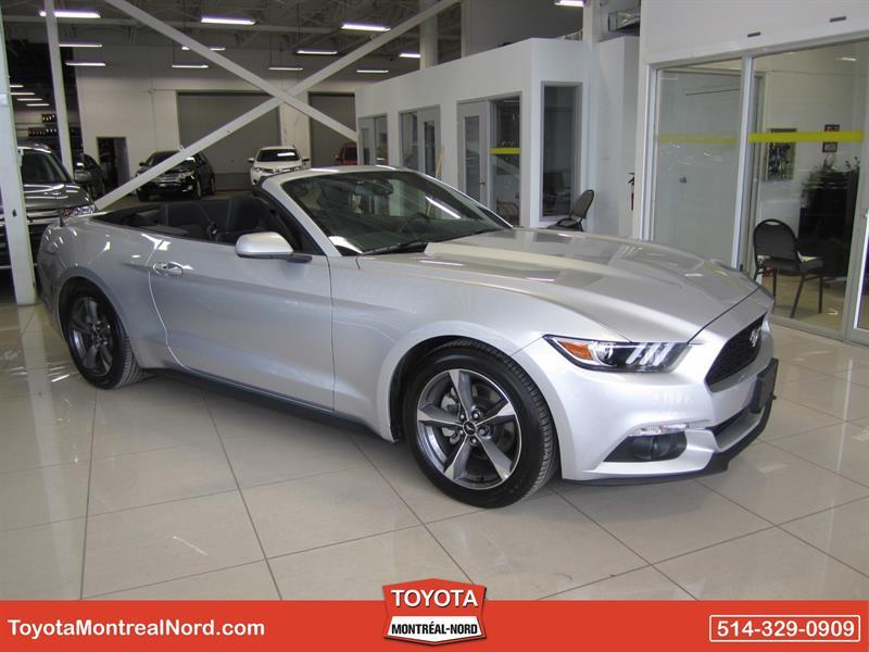 Ford Mustang 2016 V6 Décapotable 2 Portes #2394K