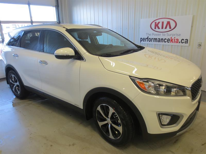 2017 kia sorento ex turbo new for sale in thunder bay at performance kia. Black Bedroom Furniture Sets. Home Design Ideas