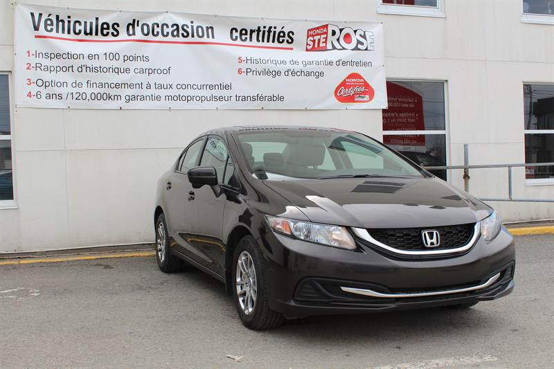 Honda Civic Sedan 2014 4dr CVT EX #u1103