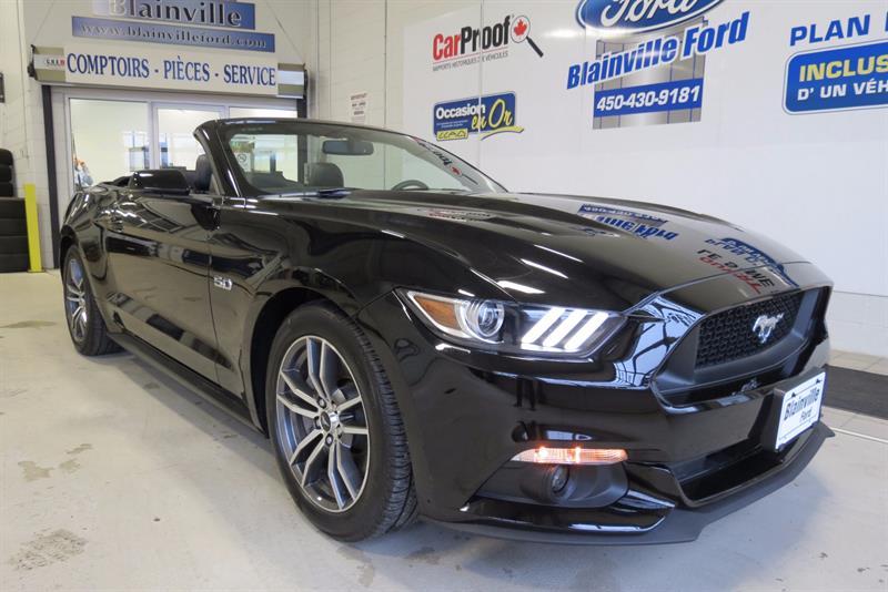 Ford Mustang 2016  CONV. GT PREMIUM CUIR.NAV. #217059