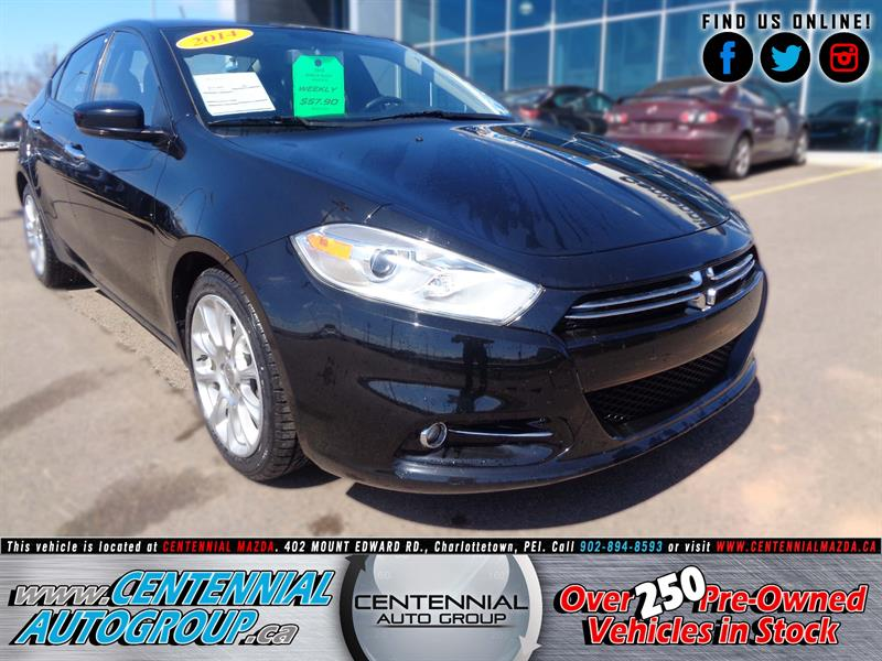 2014 Dodge Dart Limited #U922