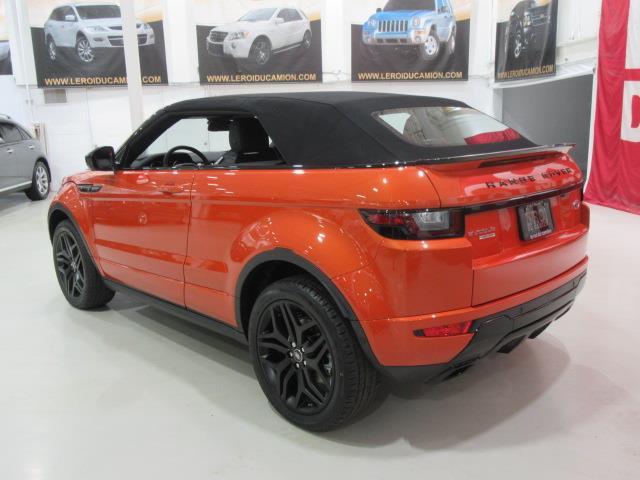 land rover range rover evoque hse convertible dynamic 2017 occasion vendre saint eustache chez. Black Bedroom Furniture Sets. Home Design Ideas