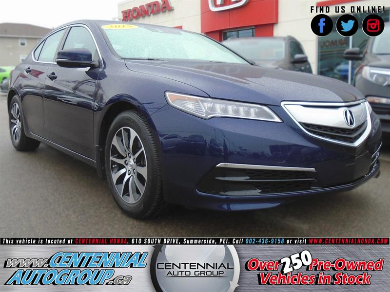 2015 Acura TLX Tech Package #U1501