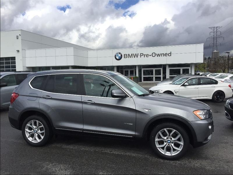 2014 bmw x3 xdrive28i used for sale in vancouver at brian jessel bmw. Black Bedroom Furniture Sets. Home Design Ideas