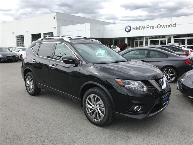 2014 nissan rogue sl awd used for sale in vancouver at brian jessel bmw. Black Bedroom Furniture Sets. Home Design Ideas