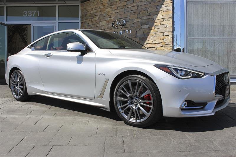 2017 infiniti q60 3 0t red sport 400 new for sale in victoria at campus nissan. Black Bedroom Furniture Sets. Home Design Ideas