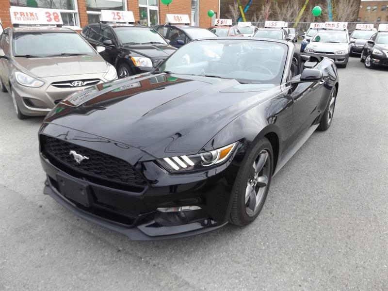 Ford Mustang Convertible 2016 V6 #1648-04