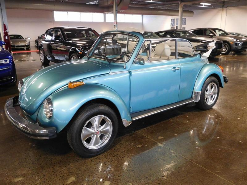 Volkswagen Super Beetle 1979 FULLY RESTORED!