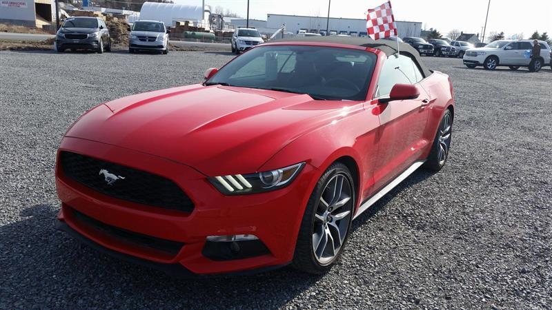 Ford Mustang Convertible 2016 EcoBoost Premium #U0120