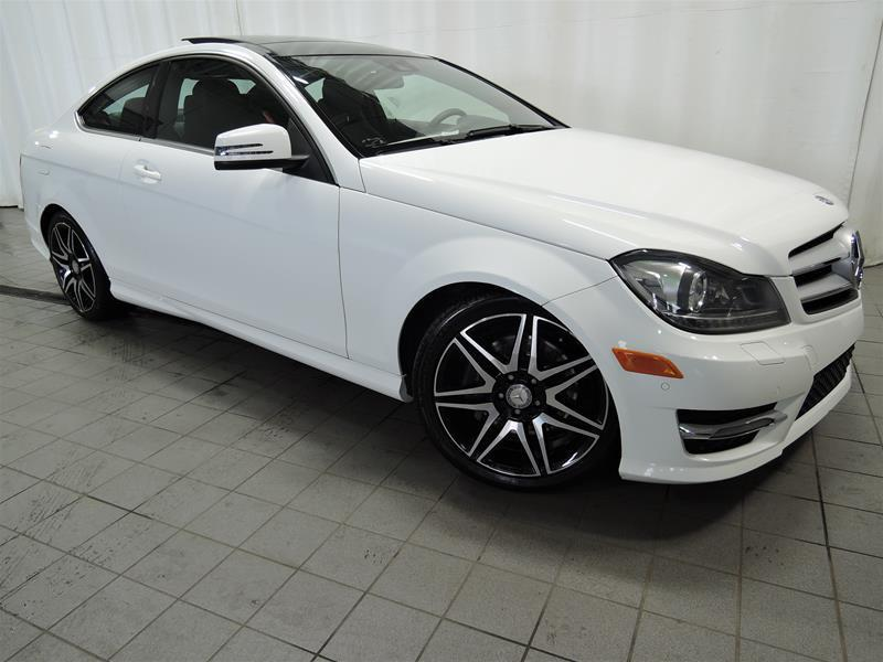 Mercedes-Benz C350 2013 4MATIC Coupe *SPORT PACKAGE* #U17-117