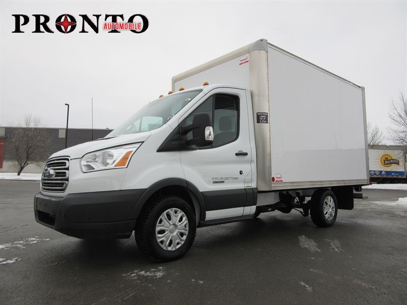 Des Laurentides Ford >> Ford Transit Cutaway T-250 Cube 12 pieds ** DIESEL! ** 2016 Occasion à vendre Laval chez Pronto ...