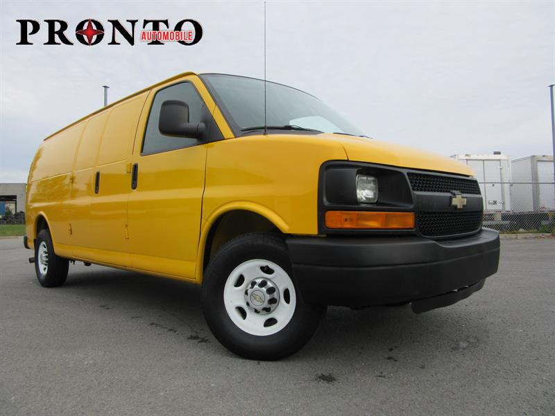 chevrolet express 2500 allong extended 4 8l vortec 2012 occasion vendre laval chez. Black Bedroom Furniture Sets. Home Design Ideas
