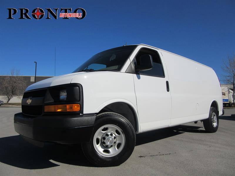 Chevrolet Express Cargo Van 2015 2500 Allongé Extended ** Bas kilo ** #3345