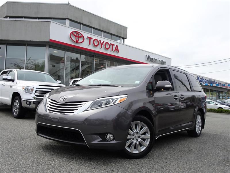 2015 Toyota Sienna Limited AWD #P6268T
