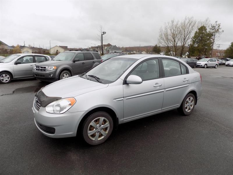 Hyundai Accent Sedan 2009 L #AD3562