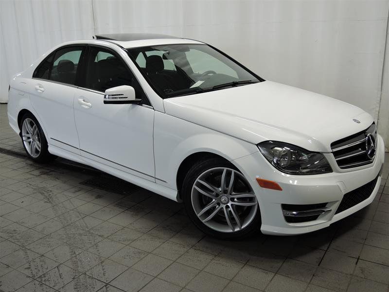 Mercedes-Benz C300 2014 4MATIC Sedan BAS KILO CERTIFIÉ #U17-131