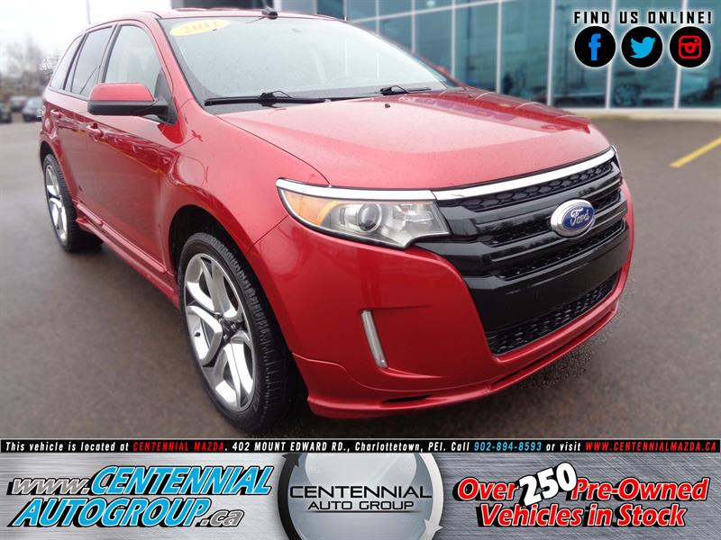 2011 Ford EDGE 4dr Sport AWD #U952