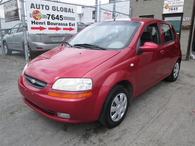 Chevrolet Aveo 2005 5dr Wgn LS,1.6 LITRES, ÉCONOMIQUE #17-359