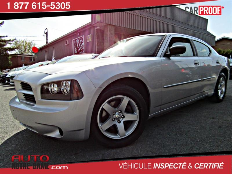 Dodge Charger 2009 4dr Sdn RWD GARANTIE 12 MOIS INCLUS