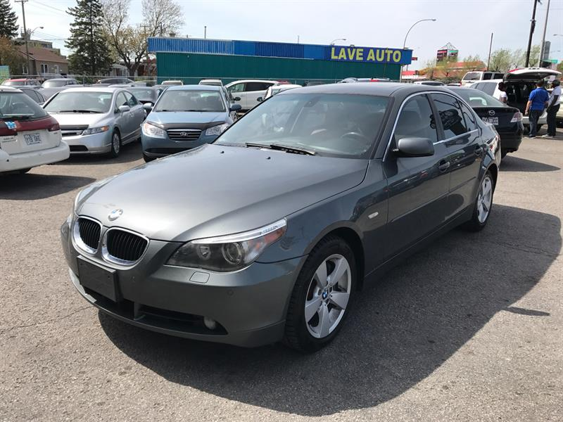 BMW 5 Series 2006 530XI-AWD-NAVIGATION-IMPECABLE #93607